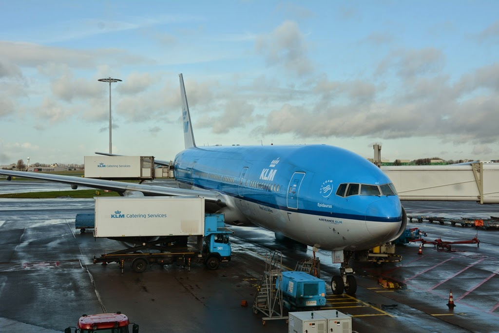KLM to Lima