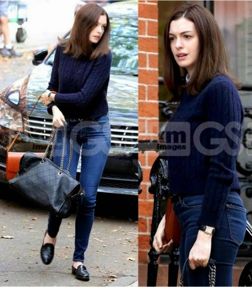 Anne Hathaway in NYC
