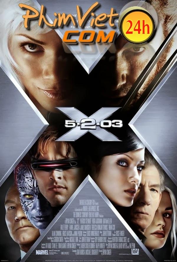 xem phim Dị Nhân 2: Liên Minh Dị Nhân - X-Men: United 2003 full hd vietsub online poster