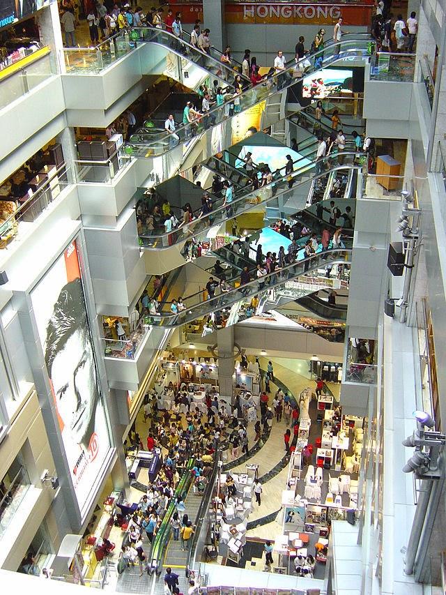 مركز إم بي كى للتسوق في بانكوك