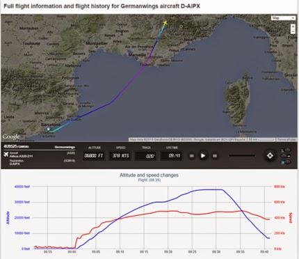Airbus на Germanwings със 148 пътници се разби във Франция