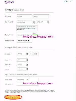 form cara membuat email