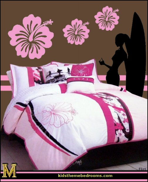 Girls Beach Themed Bedroom Decor Click Here Roxy