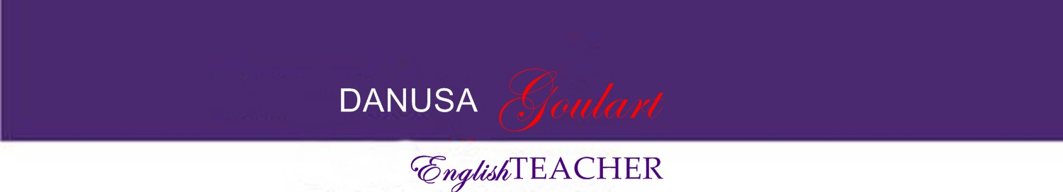 Danusa English Teacher