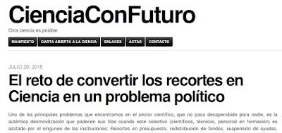 http://cienciaconfuturo.com/2015/07/29/el-reto-de-convertir-los-recortes-en-ciencia-en-un-problema-politico/