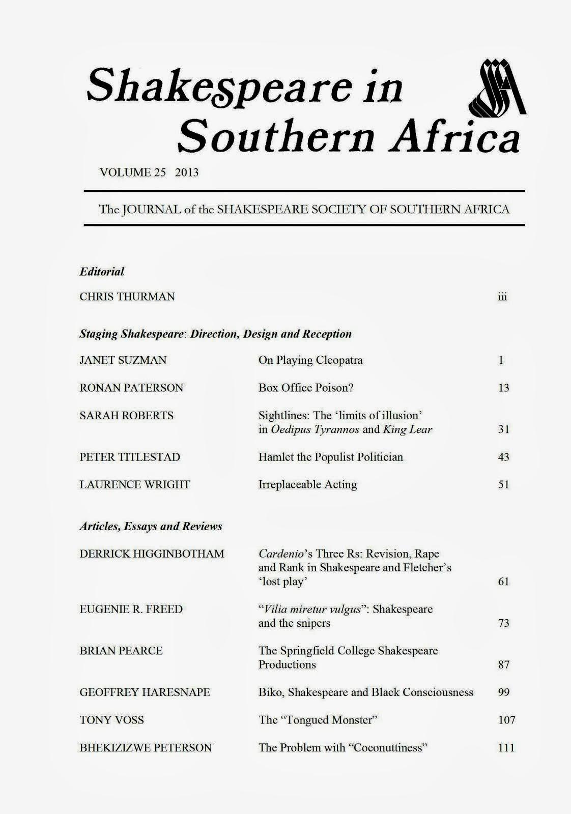 Volume 25, 2013