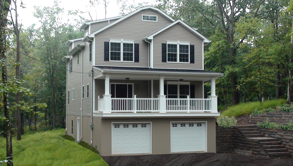 Modular home modular homes for narrow lots nj for Narrow lot modern modular homes
