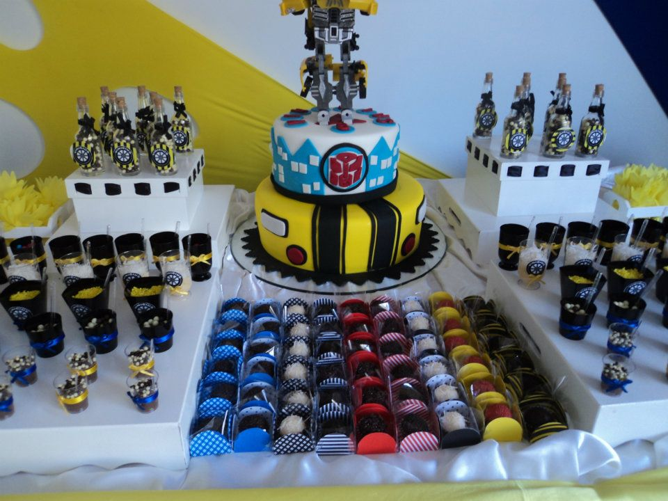 decoracao festa transformersChocolat Mimos Decor Festa personalizada