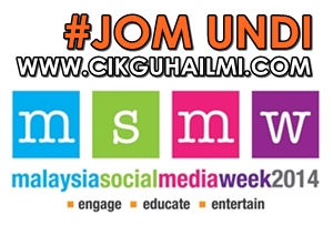 Jom Undi Best Educational Blog #MSMW2014