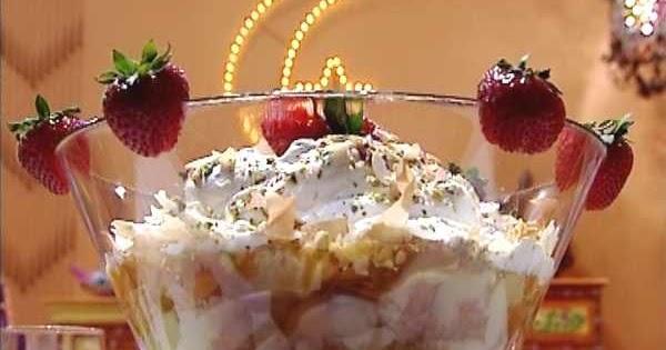 اكلات الشيف: طريقة عمل الترايفل بالصور من مطبخ منال العالم