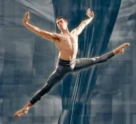 Sebastian übt Tanzen