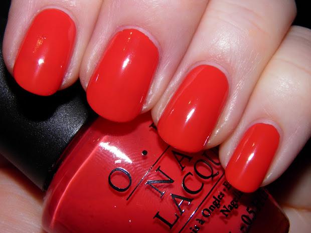 opi cajun shrimp - l64 warm red