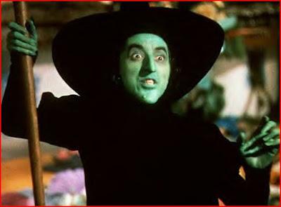La méchante sorcière de l'ouest dans Le Magicien d'Oz, de Victor Flemming (1939)