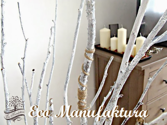 ekologiczna i skandynawska dekoracja DIY - DIY Scandinavian theme.
