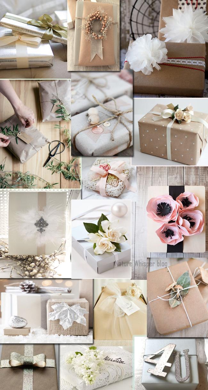 Wedding Gift Warp Ideas - Nature Whisper