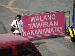 Jaywalking in the Philippines