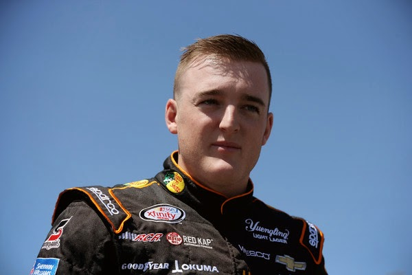 Ty Dillon, driver of the #3 Bass Pro Shops/NWTF.org Chevrolet, stands on the grid during qualifying for the NASCAR XFINITY Series Hisense 300 at Charlotte Motor Speedway on May 23, 2015 in Charlotte, North Carolina. (May 22, 2015 - Source: Streeter Lecka/Getty Images North America)