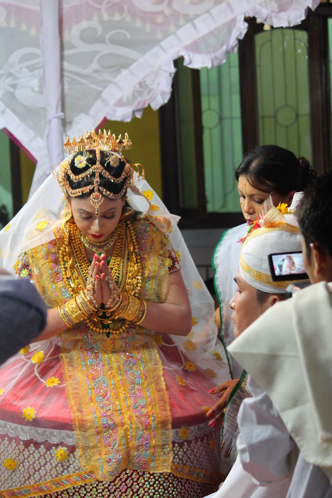 "My Musings on"" Potloi"" - Manipuri Wedding and Rasa Lila Costume ..."