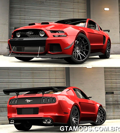 Ford Mustang GT 2014 Custom Kit