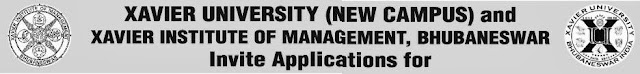 XAVIER UNIVERSITY Job Vacancy November 2013