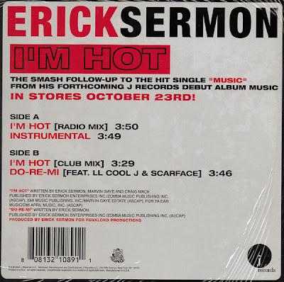 Erick Sermon – I'm Hot (VLS) (2001) (320 kbps)