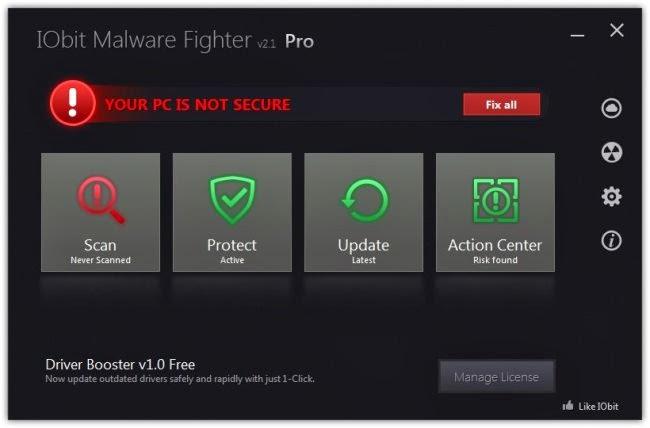 iobit malware fighter 3 key