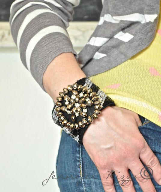 Make a DIY cuff bracelet