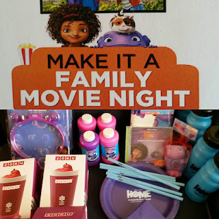 Dreamworks Home Movie Night