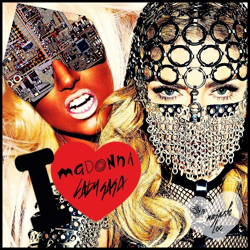 I love Madonna & Lady Gaga! FACEBOOK!