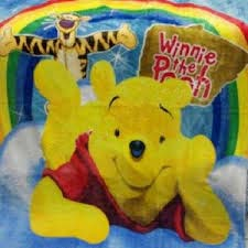 Jual Selimut New Seasons Blanket Pooh Pelangi