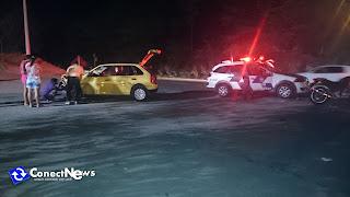 A Vítima foi levada para o hospital Silvio Ávidos em Colatina