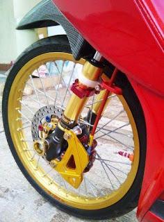 Foto Modifikasi Honda Vario Peleg 17