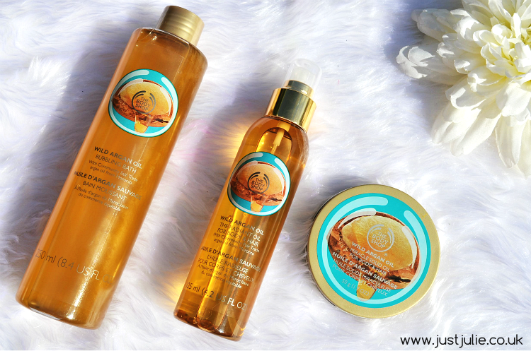The Bodyshop NEW Wild Argan Oil Range!