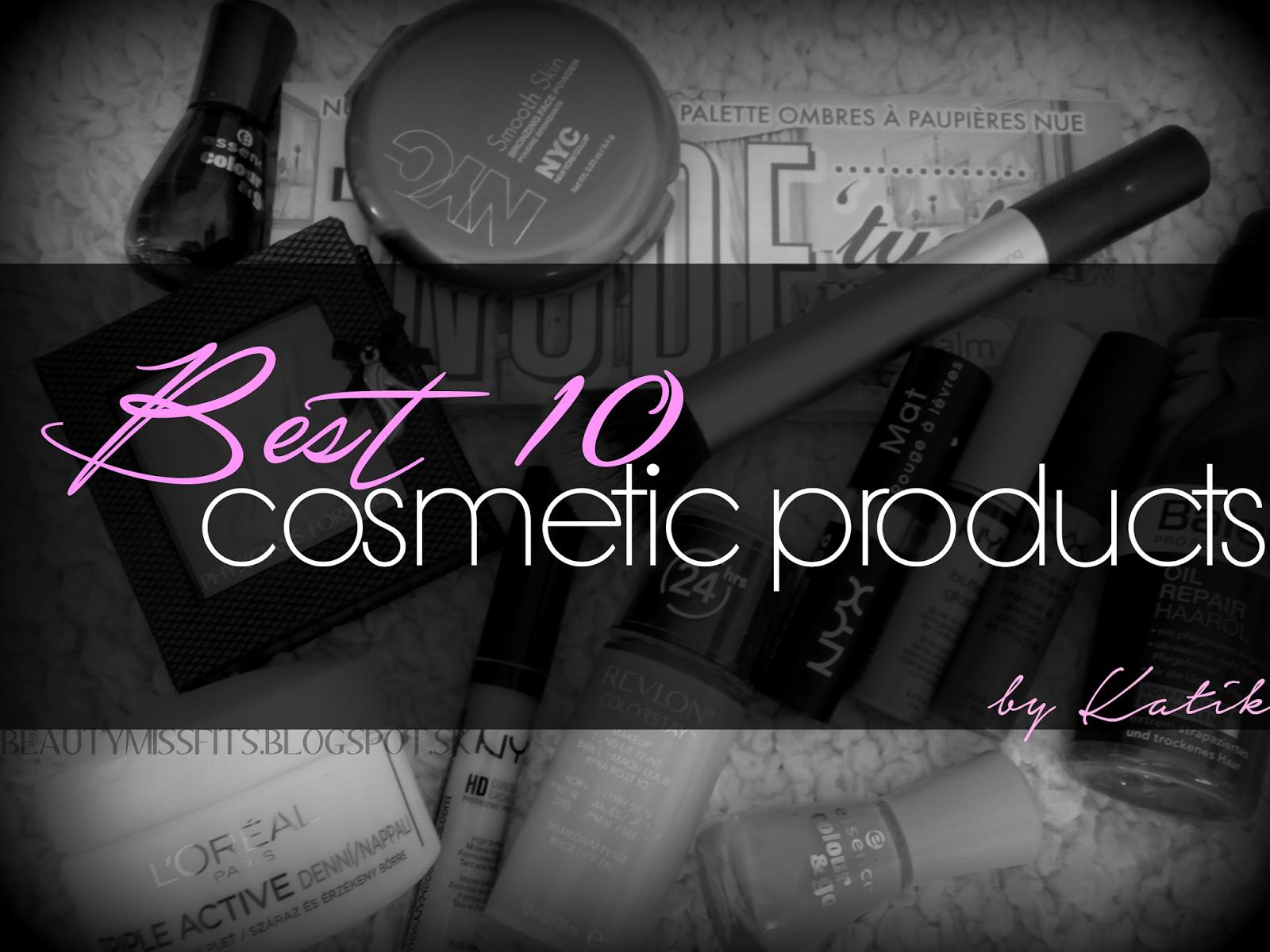 Mojich 10 NAJ produktov (by Katik)
