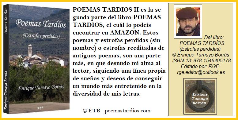 Presentación POEMAS TARDIOS II