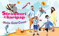 Strawberi dan Karipap  Hello Gold Coast Episod 1