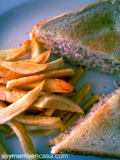 receta sandwich de atún