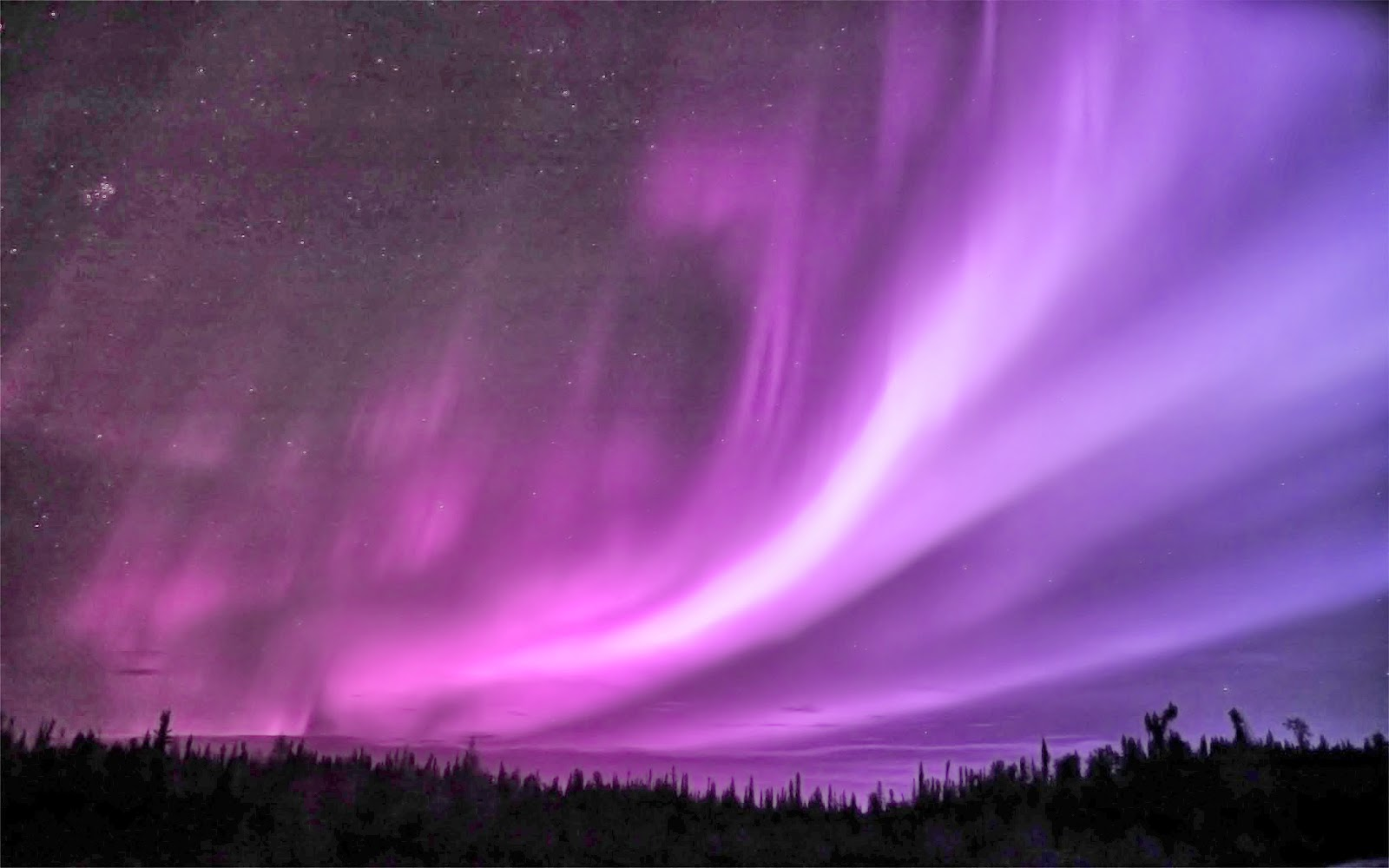 purple aurora borealis wallpapers x - photo #35