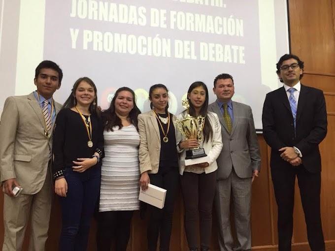 Estudiantes de El Cocuy, ganadores del concurso 'Jóvenes Boyacenses se Atreven a Debatir'