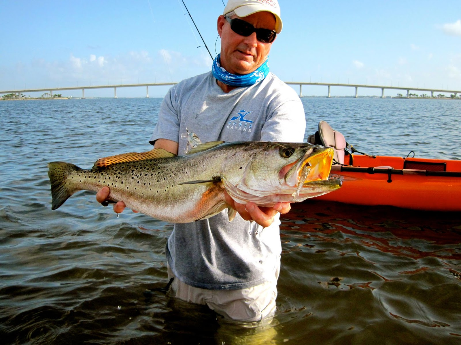 On foot angler from henry snook nook jensen beach for Snook nook fishing report