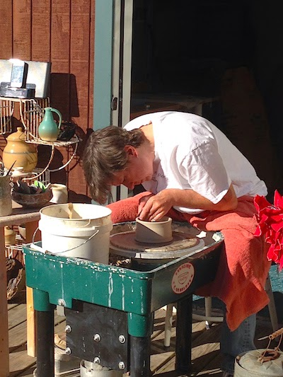 Pottery Throwing Demo by Future Relics Gallery