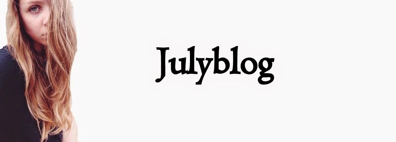 July's blog