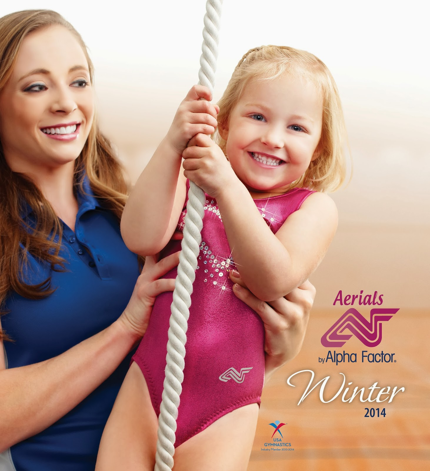Aerials by Alpha Factor - Winter 2014 Workout wear Gymnastics catalog