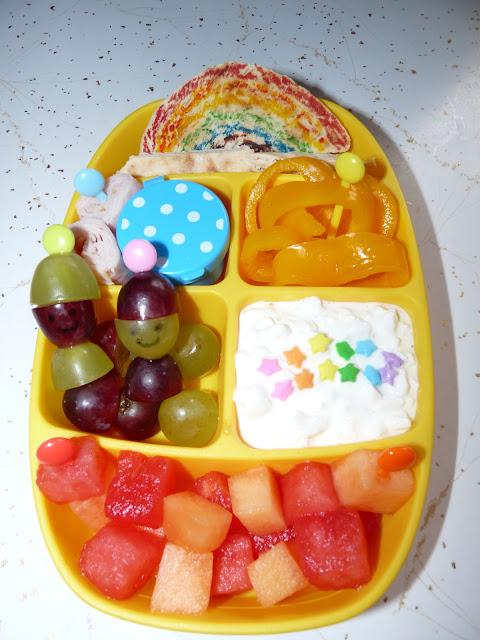 Rainbow Colors Bento Lunch