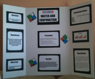 From the Mind of Mrs. Martin: Does the Color of Water Affect Its ...
