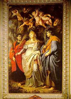 (Nouveau) Lexique sur la PRIÈRE et lexique HISTORIQUE des SAINTS Domitilla_with_Nereus_and_Achilleus,_by_Rubens_%28Chiesa_Nuova,_Rome%29