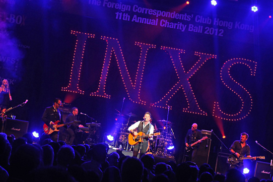 11th FCC Annual Charity Ball - INXS - IKA BUTONI