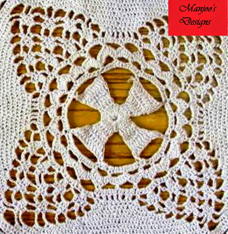 Manjoos Designs: Indian Crochet / Crosia / Krosha Design for Home ...