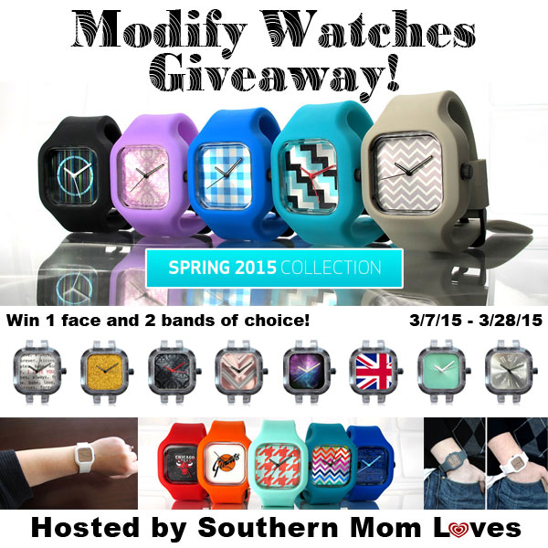 Enter the Modify Watches Giveaway. Ends 3/28.