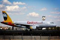 fastjet A320 in Johannesburg yesterday
